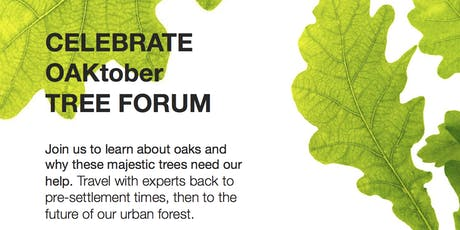 Celebrate OAKtober Tree Forum tickets