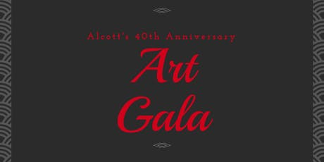 Alcott's 40th Anniversary Art Gala tickets