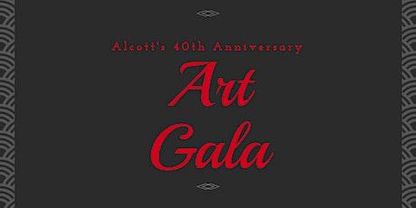 Alcott's 40th Anniversary Art Gala tickets