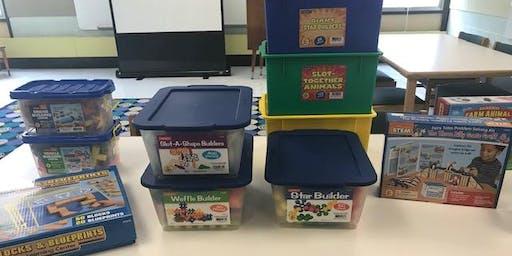 Wee Build Zone - Preschool STEM Play - September