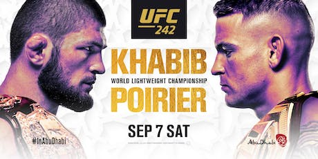 UFC 242: Khabib vs. Poirier at Red Bar and Lounge tickets