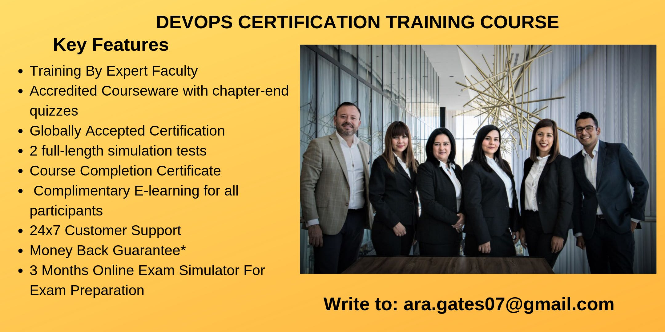 DevOps Certification Course in Angels Camp, CA