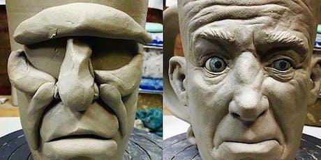 Funny Face Mug Pottery Class tickets