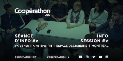 Coopérathon 2019 – Séance d'info #2 / Info session #2 (Montréal)