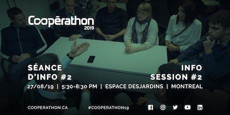 Coopérathon 2019 - Séance d'info #2 / Info session #2 (Montréal) tickets