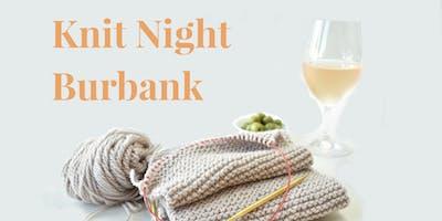 Row House Knit Night - Burbank - Sept 17th