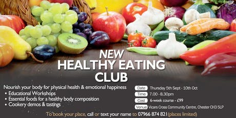 Healthy Eating Club tickets