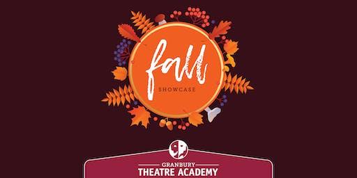 Granbury Theatre Academy Fall Showcase