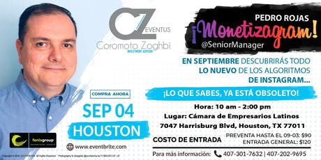 Monetizagram! By Pedro Rojas @seniormanager - Spanish Edition tickets