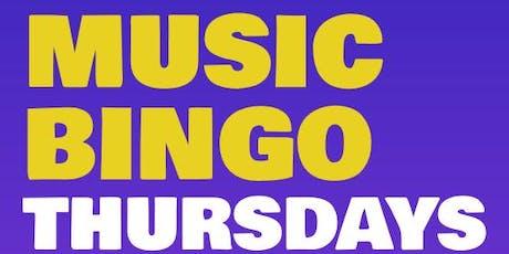 MUSIC BINGO! at TGIFRIDAY'S - STEEL CREEK tickets