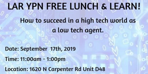 LAR YPN Free Lunch & Learn - Piper Knoll
