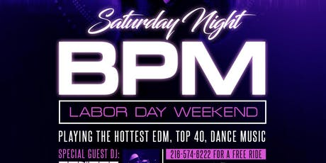 SATURDAY NIGHT BPM DANCE PARTY tickets