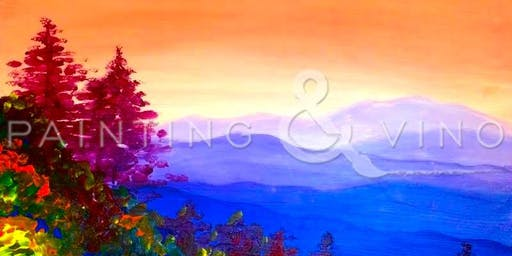 """Mountain View"" Painting & Vino Event"
