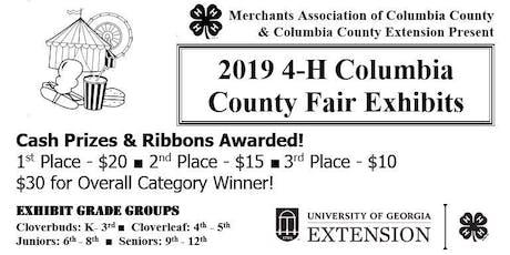County Fair 4-H Exhibit Registration (Grades K-12/FREE) tickets