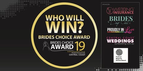 Central Coast Brides Choice Awards Gala Cocktail Party 2019 tickets