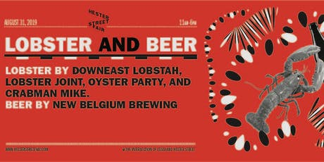 Hester Street Fair's Lobster & Beer tickets
