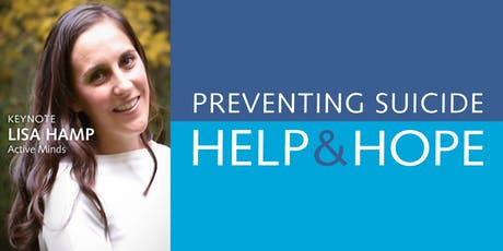 Preventing Suicide: Help and Hope – 4th Annual Conference tickets
