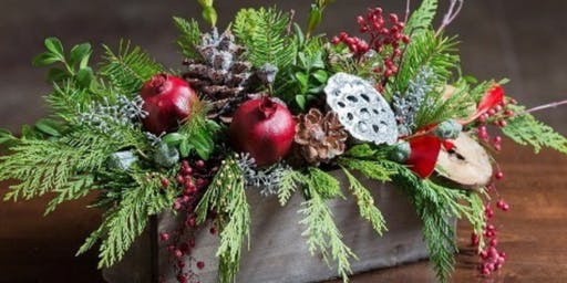 Easton Festival Of Trees - Holiday Floral Design Workshop