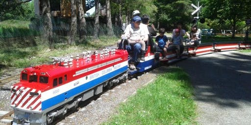 VSCA Autism Family Annual Train event at Heritage Acres!