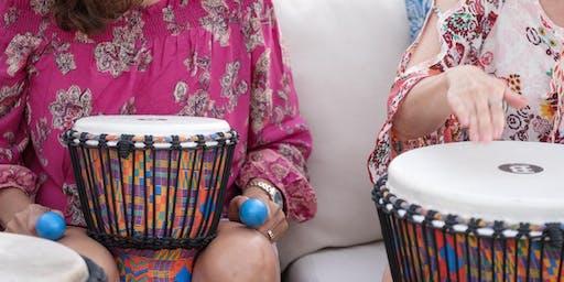 Weekend Wellness: Drumming for Emotional Release