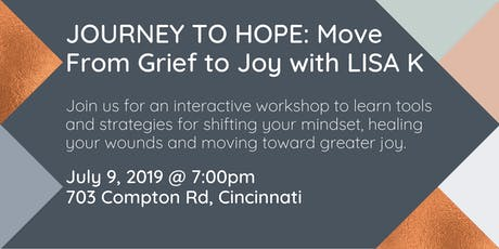 Move from Grief to Joy with Lisa K tickets