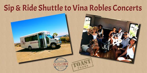 Sip & Ride Shuttle to Vina Robles Concerts - Earth, Wind & Fire