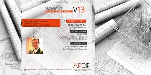 PM NIGHT Vol 13 Gestionando exitosamente las adquisiciones y contrataciones