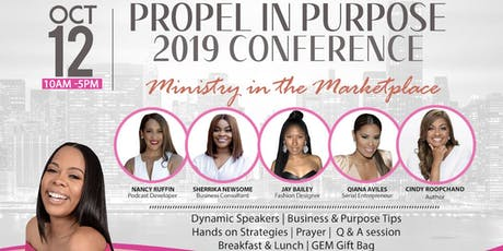Propel in Purpose 2019 Conference tickets
