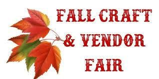 Vendor/Craft Fair and Bake Sale October 5