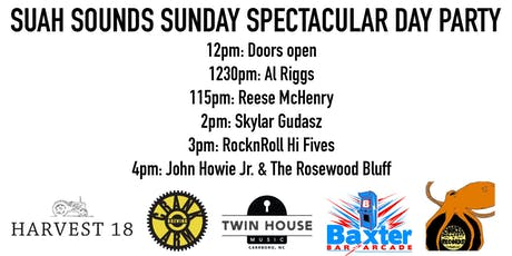 Suah Sounds Sunday Spectacular Day Party tickets