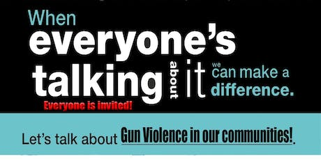 Gun Violence Roundtable 2019 tickets