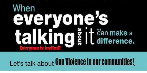 Gun Violence Roundtable 2019