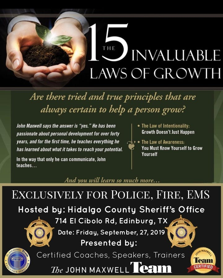 The 15 Invaluable Laws of Growth: First Responder Exclusive