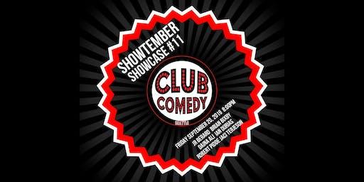 Showtember Showcase #11 Friday 8:00PM 9/20