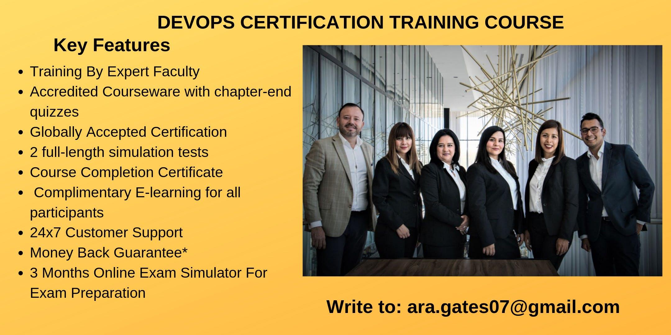DevOps Certification Course in Boise, ID