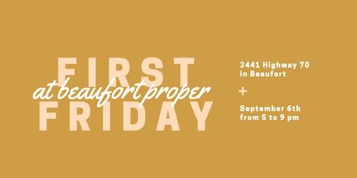 First Fridays at Beaufort Proper