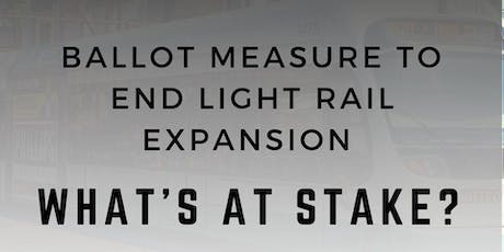 Facts on LIght Rail Initiative tickets