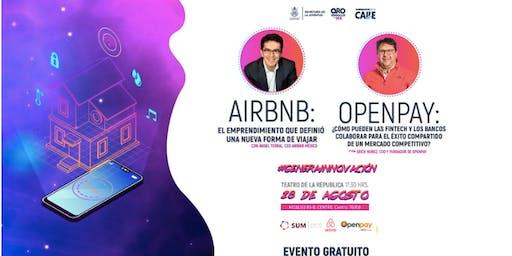 Efecto Juventud: Conferencia de Airbnb y Openpay