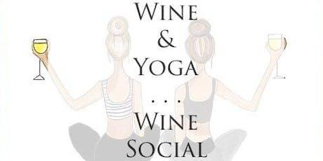Wine Down Yoga tickets