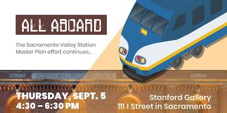 Sacramento Valley Station Master Plan - Community Workshop tickets