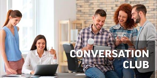 Workshop Conversation club tuesday 20th August- Saturday 24th August
