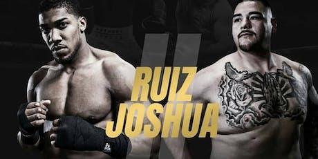 Joshua Vs Ruiz Part 2 tickets