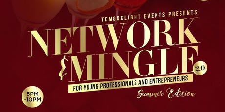 Network & Mingle 2.0  For Young Professionals & Entrepreneurs tickets