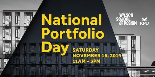 2019 Vancouver National Portfolio Day