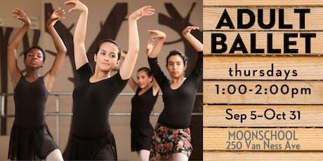 Thursday Adult Ballet at MoonSchool tickets