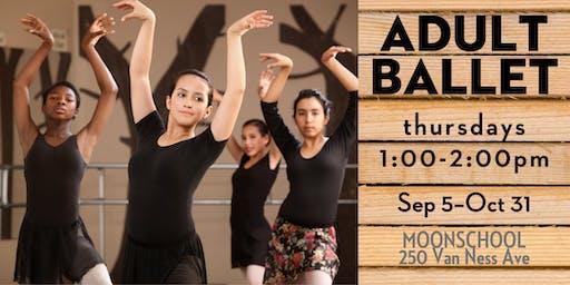 Thursday Adult Ballet at MoonSchool