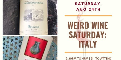 Weird Italian Wines tickets