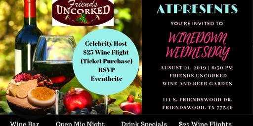 """ATPRESENTS """"Winedown Wednesday"""" Business Networking Event"""