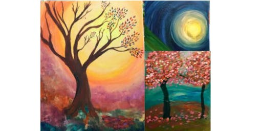 Acrylic Painting Fall Landscapes