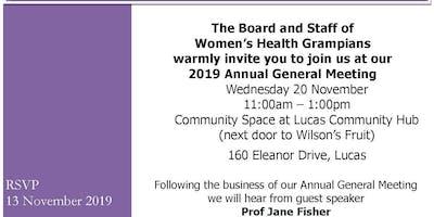 Womens Health Grampians Annual General Meeting